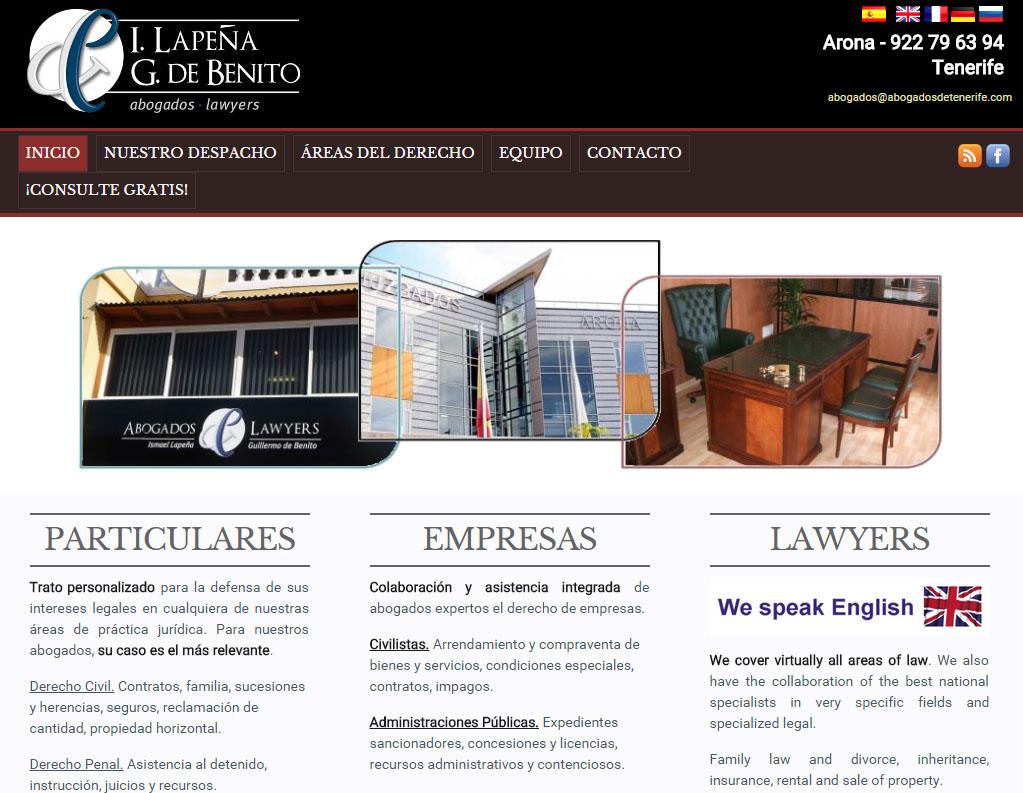 despacho de abogados en arona